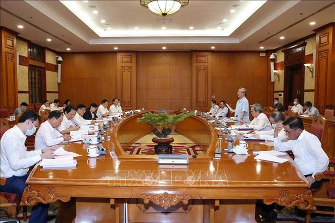 Bộ Chính trị làm việc với 11 đảng bộ trực thuộc Trung ương - Ảnh 3.
