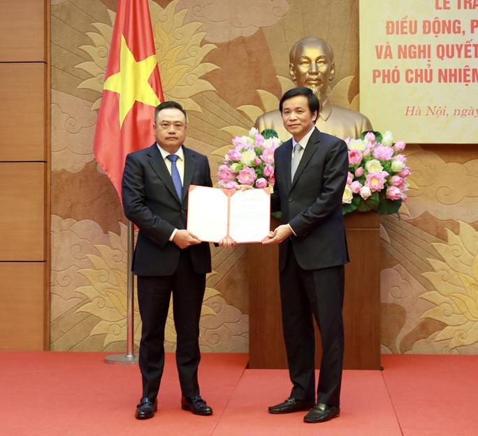 Điều động Chủ tịch PVN Trần Sỹ Thanh làm Phó chủ nhiệm Văn phòng Quốc hội - Ảnh 1.