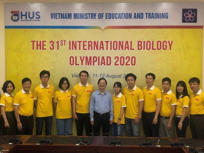 Nam sinh Huế giành huy chương vàng Olympic sinh học quốc tế - Ảnh 2.
