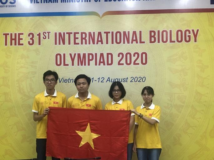 Nam sinh Huế giành huy chương vàng Olympic sinh học quốc tế - Ảnh 1.