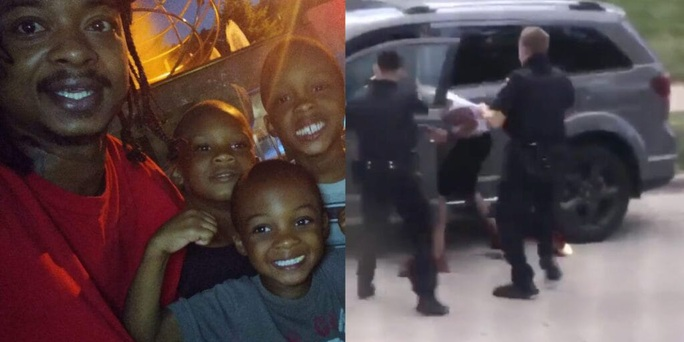 Người đàn ông da màu bị cảnh sát bắn trước mặt 3 con - Ảnh 3.