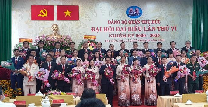 Ông Nguyễn Mạnh Cường tái đắc cử Bí thư Quận ủy Thủ Đức  - Ảnh 1.