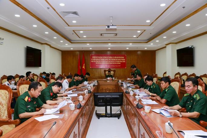 Bộ Quốc phòng kiểm tra công tác ở Bộ đội Biên phòng TP HCM - Ảnh 2.
