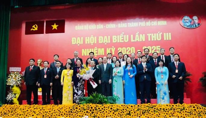 Ông Võ Ngọc Quốc Thuận tái đắc cử Bí thư Đảng ủy Khối Dân- Chính- Đảng TP HCM - Ảnh 1.
