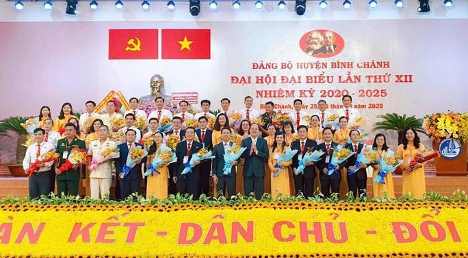 Ông Trần Hoàng Quân tái đắc cử Bí thư Huyện ủy Bình Chánh - Ảnh 3.