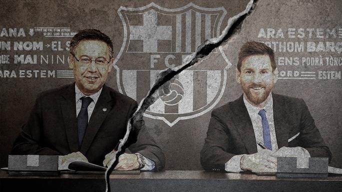 Messi yêu cầu ra đi sớm, giông bão ập đến Barcelona - Ảnh 1.