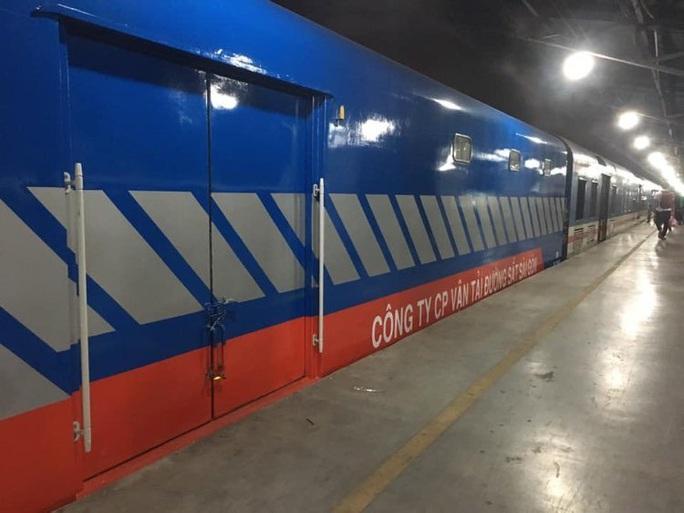 Đường sắt đưa loại hình vận chuyển hàng hoá hoàn toàn mới vào khai thác - Ảnh 1.