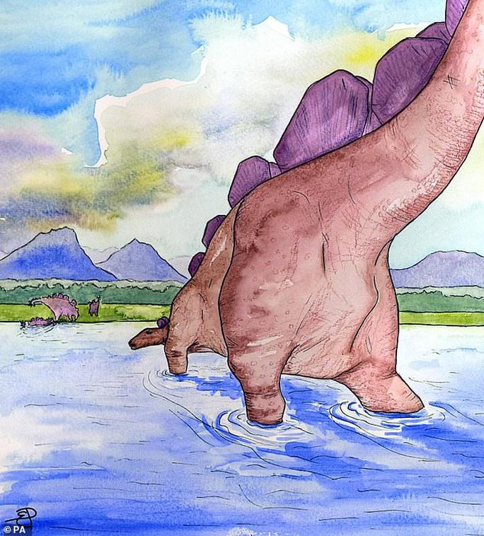 Chạy bộ thể dục, nữ tiến sĩ xinh đẹp đụng độ quái vật 166 triệu tuổi - Ảnh 4.
