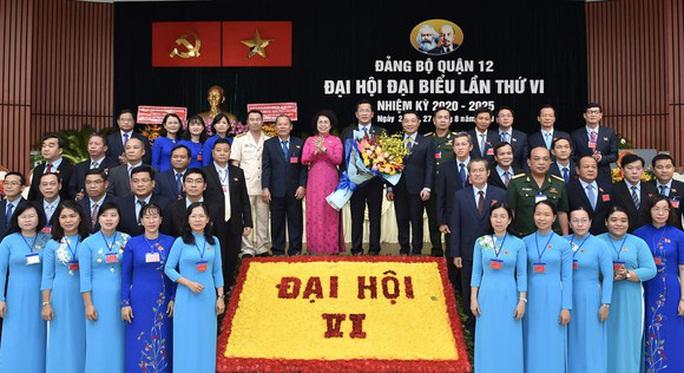 Ông Trần Hoàng Danh tái đắc cử Bí thư Quận ủy 12 - Ảnh 1.