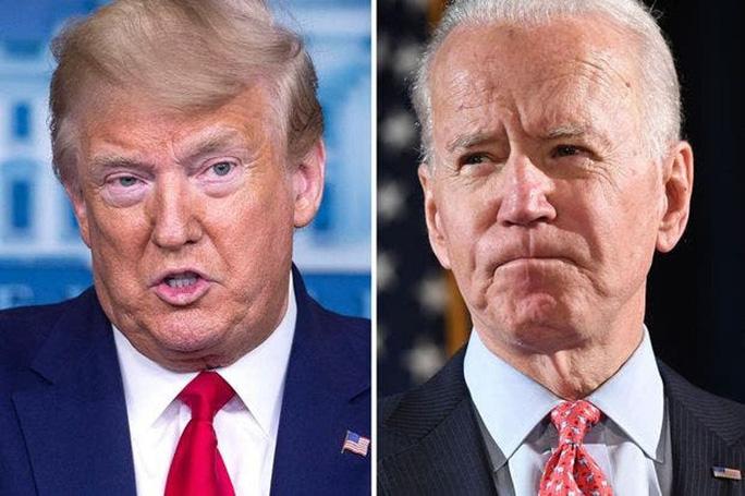Tổng thống Trump lại thách thức sốc với ông Biden - Ảnh 1.