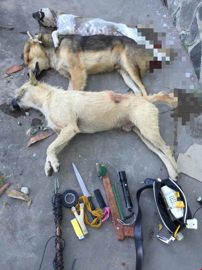 Bình Định: Một người đàn ông tử vong sau khi phát hiện bất tỉnh bên cạnh vật dụng trộm chó - Ảnh 1.