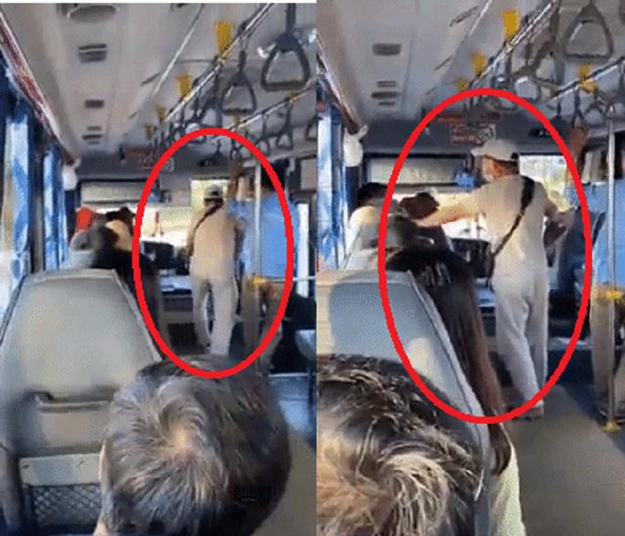 Xưng thanh tra xe buýt lăng mạ, gọi khách lớn tuổi là thằng già và đòi cắt cổ - Ảnh 1.