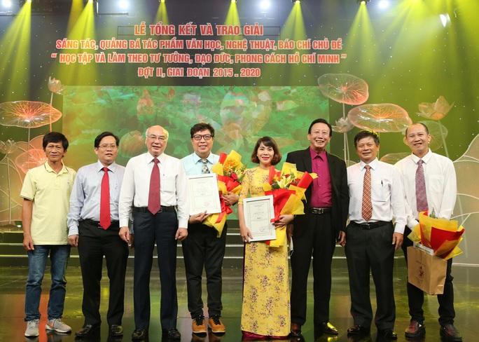 Báo Người Lao Động đoạt giải A và C về học tập, làm theo gương Bác - Ảnh 2.