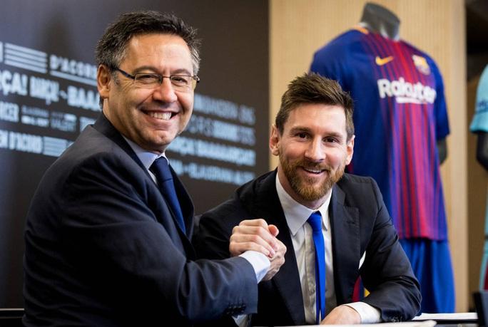 Lật kèo chấn động, Messi tuyên bố ở lại Barcelona - Ảnh 3.