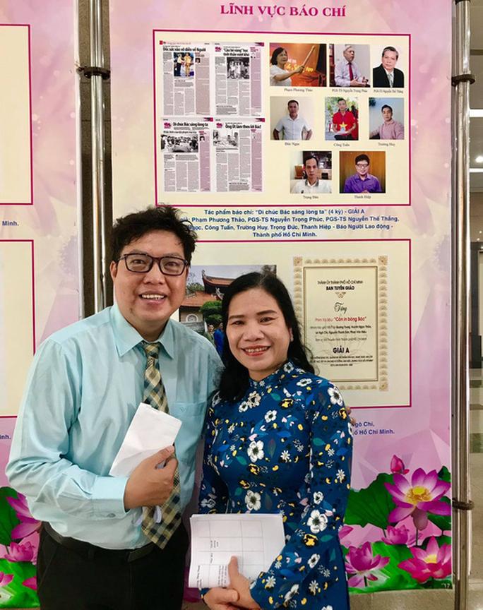 Báo Người Lao Động đoạt giải A và C về học tập, làm theo gương Bác - Ảnh 3.