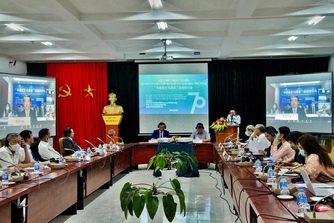 Trao đổi thẳng thắn và sâu sắc về 70 năm quan hệ Việt - Trung - Ảnh 1.