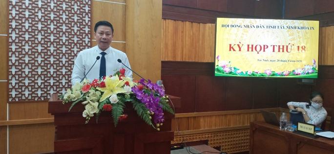 Ông Nguyễn Thanh Ngọc vừa được bầu làm Chủ tịch UBND tỉnh Tây Ninh - Ảnh 1.