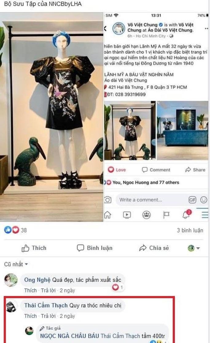 Sốc với chiếc áo dài giá 1 tỉ đồng của nhà thiết kế Võ Việt Chung - Ảnh 1.