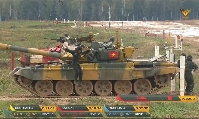 Tuyển xe tăng Việt Nam vào bán kết Army Games 2020 - Ảnh 8.