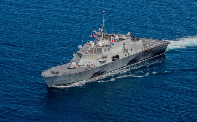 Mỹ tăng tốc đóng thêm tàu chiến Littoral phù hợp địa hình Biển Đông - Ảnh 1.