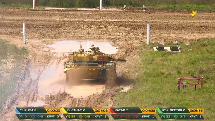 Tuyển xe tăng Việt Nam vào bán kết Army Games 2020 - Ảnh 6.