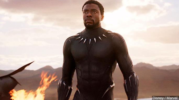 """""""Báo đen"""" Chadwick Boseman tiều tụy 3 tháng trước khi chết trẻ - Ảnh 2."""