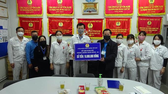 Chủ động ngăn ngừa dịch bệnh trong công nhân - Ảnh 1.