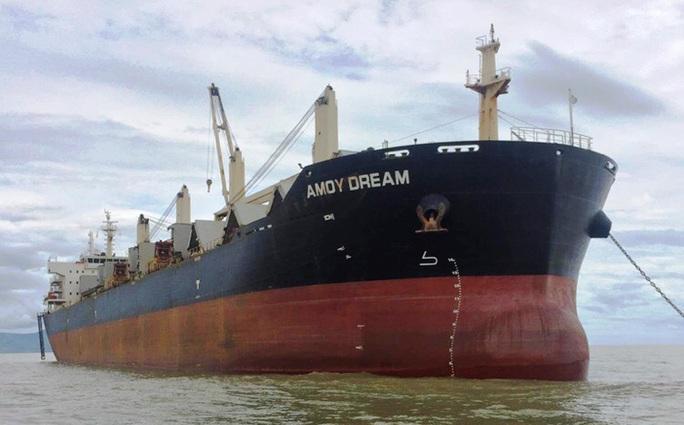 Cách ly 21 người Trung Quốc nhập cảnh vào Quảng Bình trên tàu  Amoy Dream - Ảnh 1.