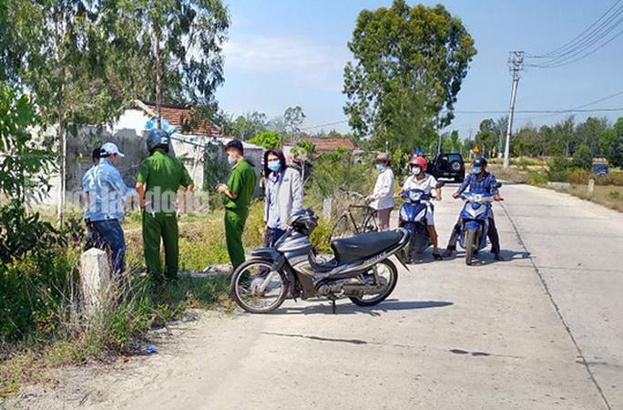 Quảng Nam: Mâu thuẫn tại cuộc nhậu, 1 người bị chém chết - Ảnh 1.