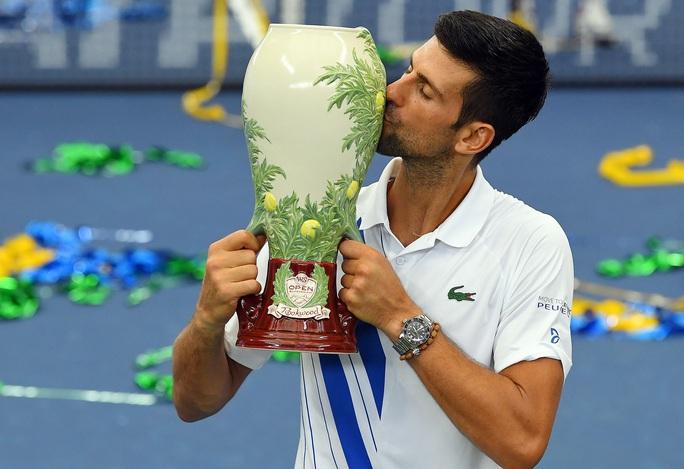 Đăng quang Cincinnati Masters 2020, Djokovic lập nhiều kỷ lục mới - Ảnh 3.