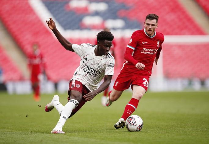 Hạ Liverpool trên chấm luân lưu, Arsenal đăng quang Siêu cúp Anh - Ảnh 3.