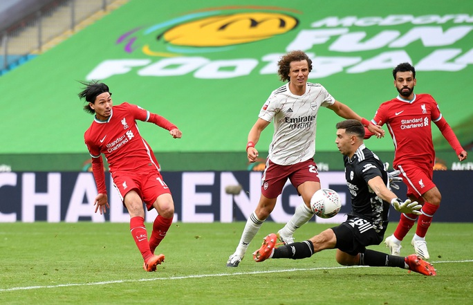 Hạ Liverpool trên chấm luân lưu, Arsenal đăng quang Siêu cúp Anh - Ảnh 7.