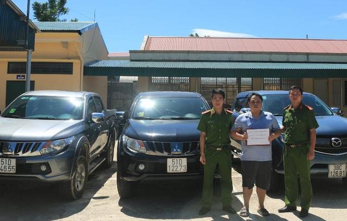Từ Đài Loan (Trung Quốc) sang Việt Nam trộm xe ôtô đi cầm đồ lấy tiền tiêu xài - Ảnh 1.