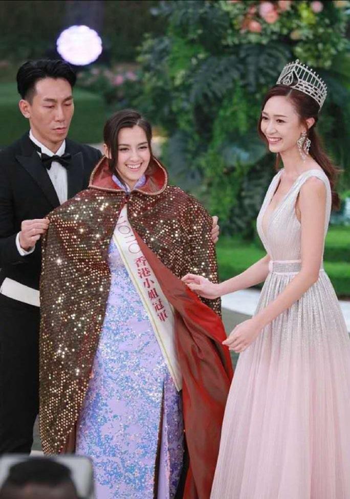 Nhan sắc tân Hoa hậu Hồng Kông gây tranh cãi - Ảnh 2.