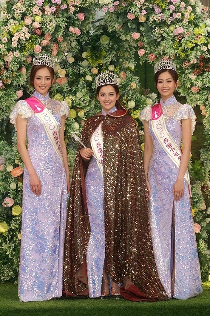 Nhan sắc tân Hoa hậu Hồng Kông gây tranh cãi - Ảnh 4.