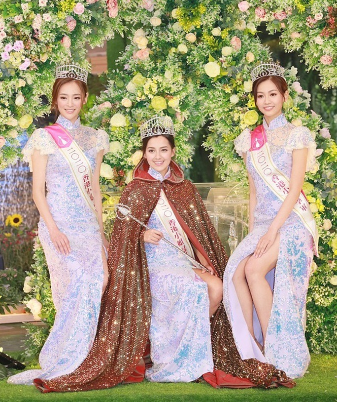 Nhan sắc tân Hoa hậu Hồng Kông gây tranh cãi - Ảnh 5.