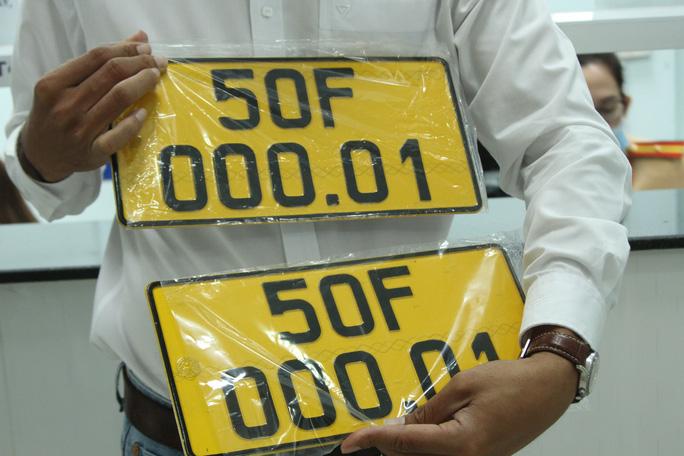 10 phút đến đội CSGT đăng ký có ngay biển số vàng - Ảnh 6.