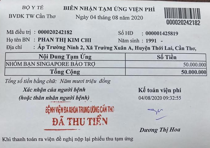 Ca sĩ Trương Đan Huy làm cầu nối giúp cô gái được 15 bác sĩ cứu sống - Ảnh 2.