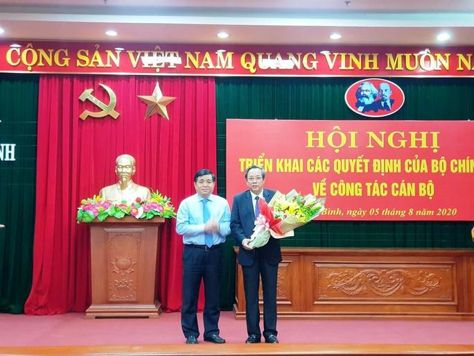 Ông Vũ Đại Thắng được bổ nhiệm giữ chức Bí thư Tỉnh ủy Quảng Bình - Ảnh 2.