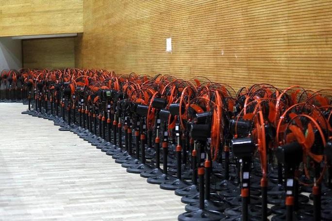 Hình ảnh bên trong Bệnh viện dã chiến Tiên Sơn - Đà Nẵng sắp hoàn thành - Ảnh 3.