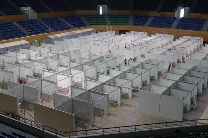 Hình ảnh bên trong Bệnh viện dã chiến Tiên Sơn - Đà Nẵng sắp hoàn thành - Ảnh 6.
