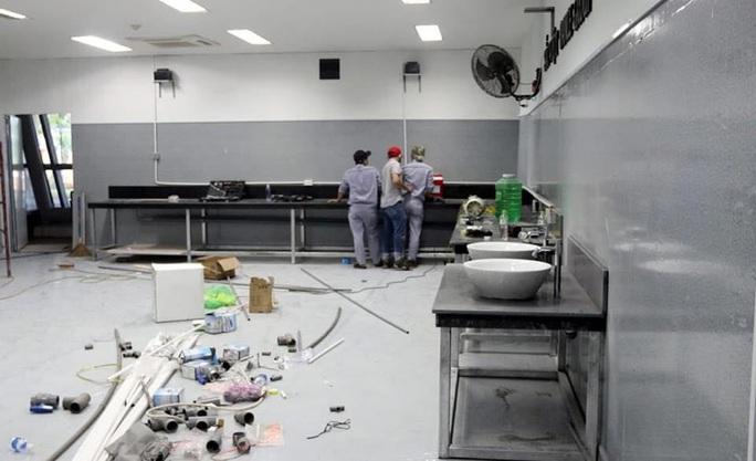 Hình ảnh bên trong Bệnh viện dã chiến Tiên Sơn - Đà Nẵng sắp hoàn thành - Ảnh 8.