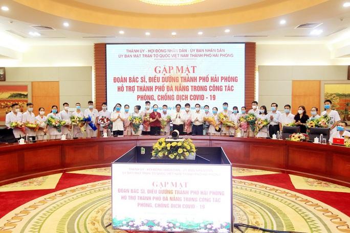 Đoàn bác sĩ, điều dưỡng Hải Phòng lên đường chi viện cho Đà Nẵng - Ảnh 2.