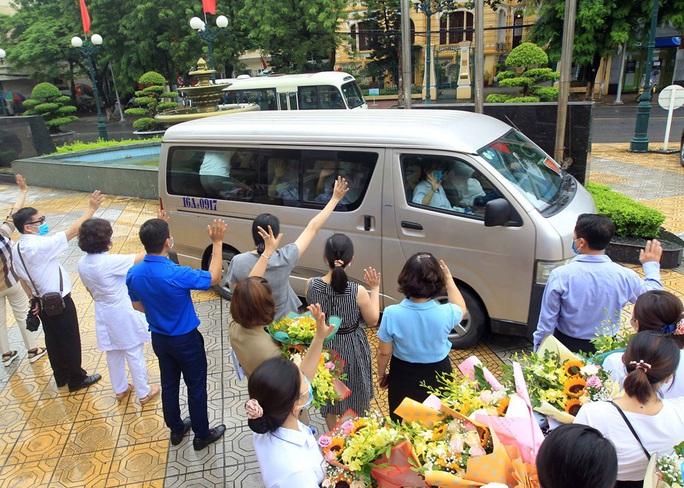 Đoàn bác sĩ, điều dưỡng Hải Phòng lên đường chi viện cho Đà Nẵng - Ảnh 3.