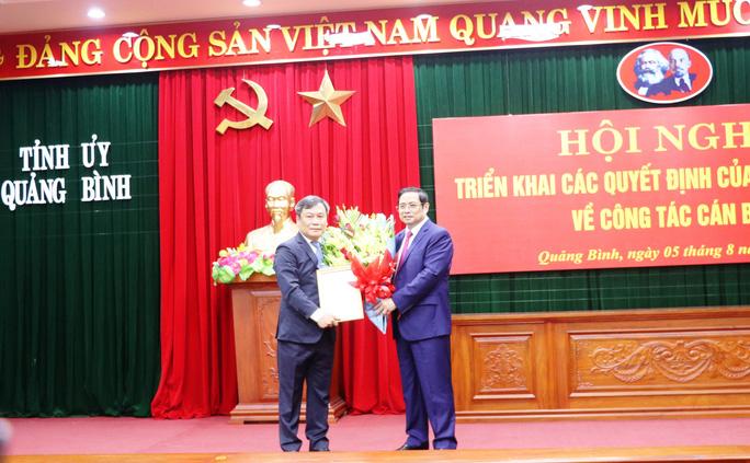 Ông Vũ Đại Thắng được bổ nhiệm giữ chức Bí thư Tỉnh ủy Quảng Bình - Ảnh 1.