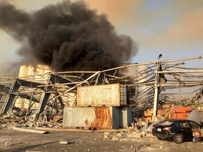 Tổng thống Trump phát biểu ngược dòng vụ nổ cực lớn ở Lebanon - Ảnh 3.