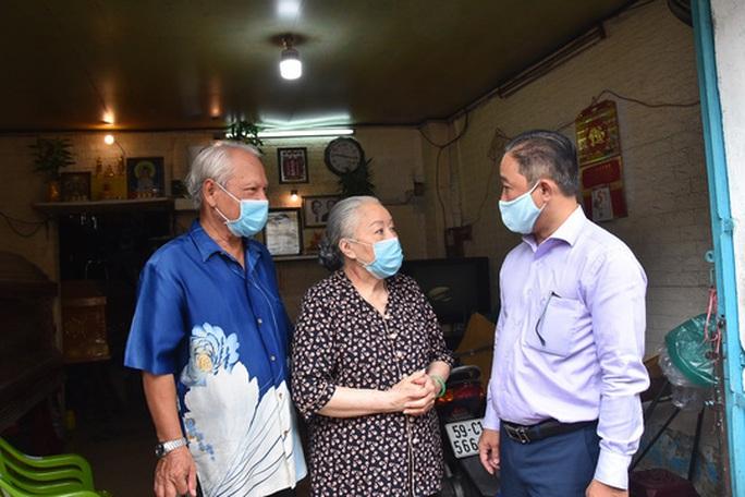 Mai Vàng nhân ái thăm NSƯT Thanh Nguyệt, đạo diễn Lê Văn Tĩnh - Ảnh 1.