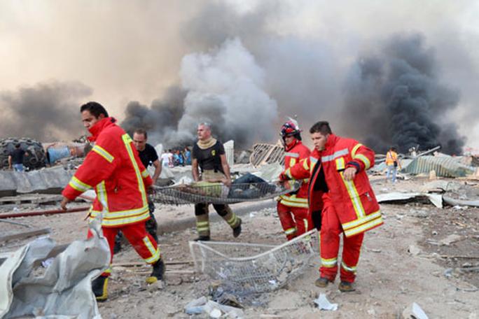 Sau vụ nổ kinh hoàng ở Beirut: Thế giới hướng về Lebanon - Ảnh 1.