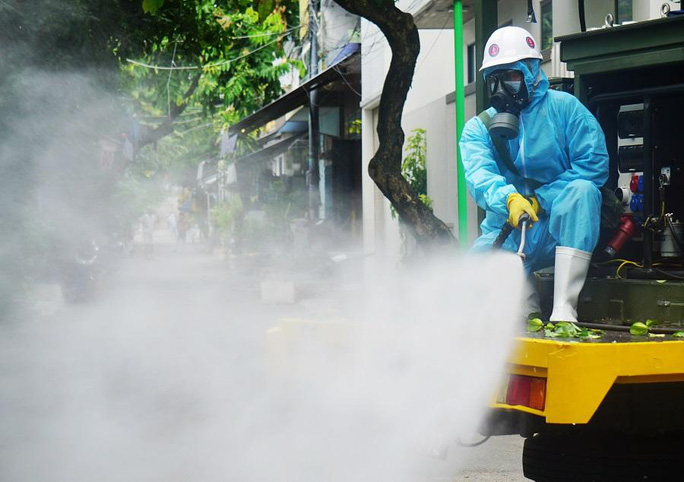 Đà Nẵng sẽ phun hóa chất khử khuẩn trên diện rộng - Ảnh 1.