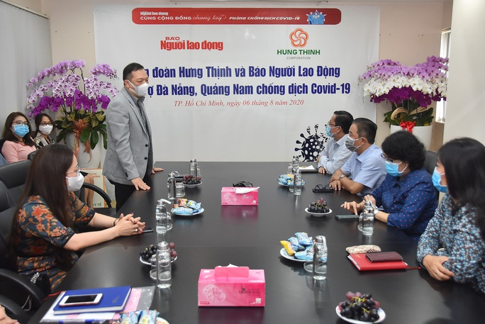 Gần 5 tỉ đồng hỗ trợ Đà Nẵng, Quảng Nam phòng, chống Covid-19 - Ảnh 3.
